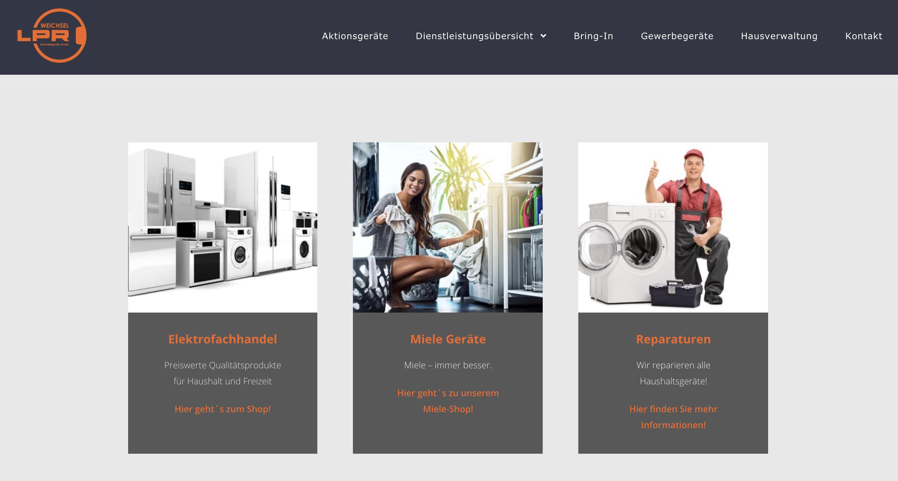 Weichsel / LPR Haushaltsgeräte GmbH
