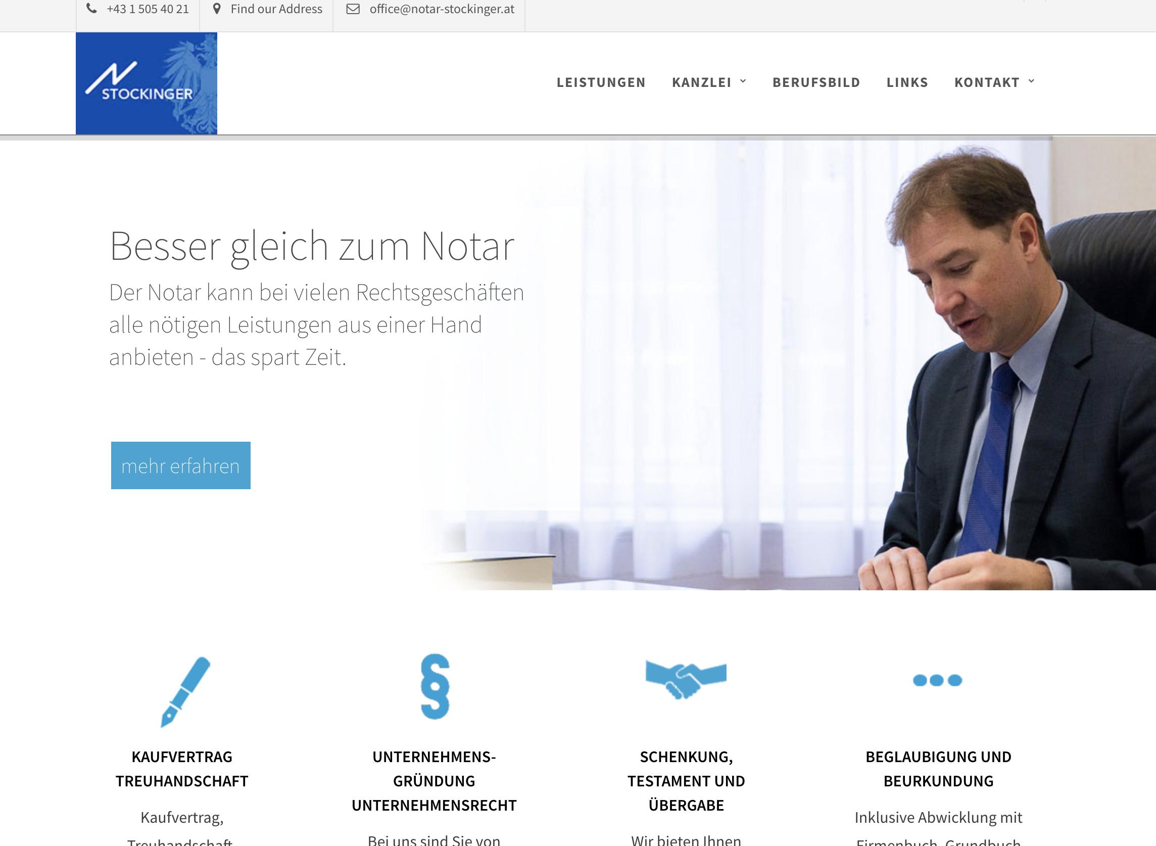Notar Stockinger